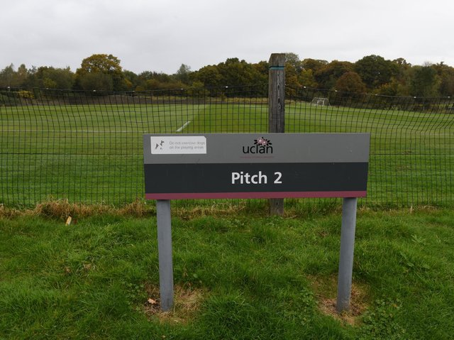 The grass pitches at UCLan's sports arena are overused to the tune of 10.5 times a week say experts