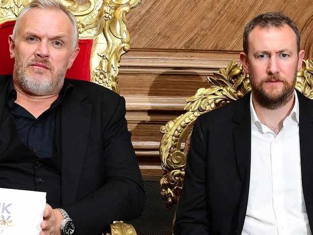 Greg Davies and Alex Horne keep order on the new series of Taskmaster
