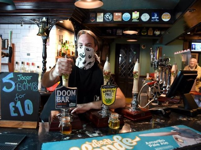Gavin Corless will be serving food and not just pulling pints tomorrow.
