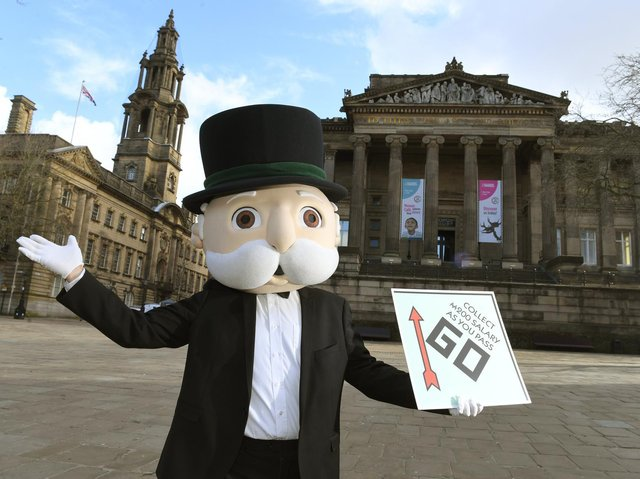 Mr Monopoly comes to Preston as the city gets its own version of Monopoly