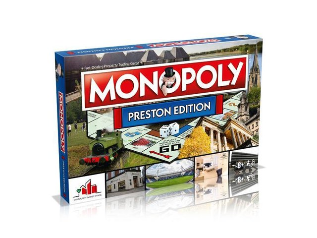 Released today: The Preston edition of Monopoly