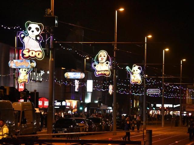 Blackpool Illuminations turn off on Wednesday until further notice.
