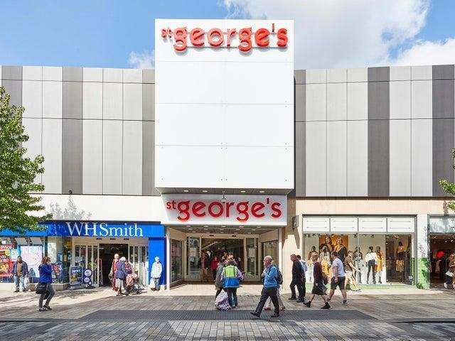 St George's Shopping Centre says its key priority is the safety of its customers and the staff at outlets still trading during the November lockdown.