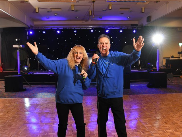 Tracey and David Billington at Riva Bar, Preston