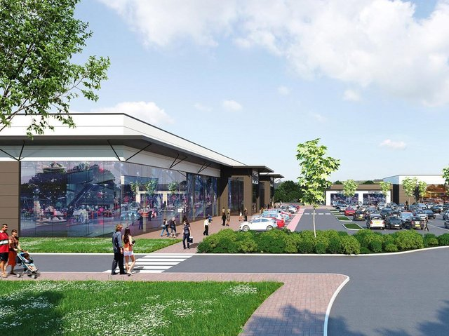 An artist's impression of how the original Cottam scheme would have looked