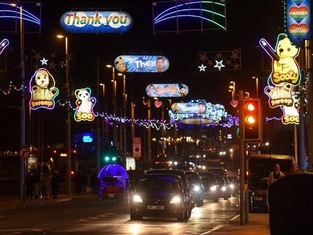 Blackpool Illuminations will shine into the New Year
