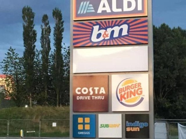 Fulwood Central retail park has become the latest home of the Whopper.