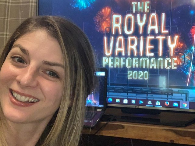 Joining in from home entertainments reporter Nicola Jaques gives an insight on a very different but historic Royal Variety Performance in Blackpool.