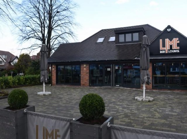 The Lime Bar wants glass canopies to protect drinkers from the Penwortham weather.