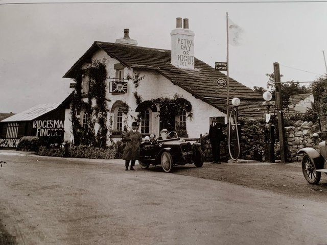 The Old Toll House at Farleton photographed around 1925.