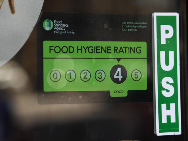 FSA data shows 110 informal written warnings were handed out to food businesses across Preston