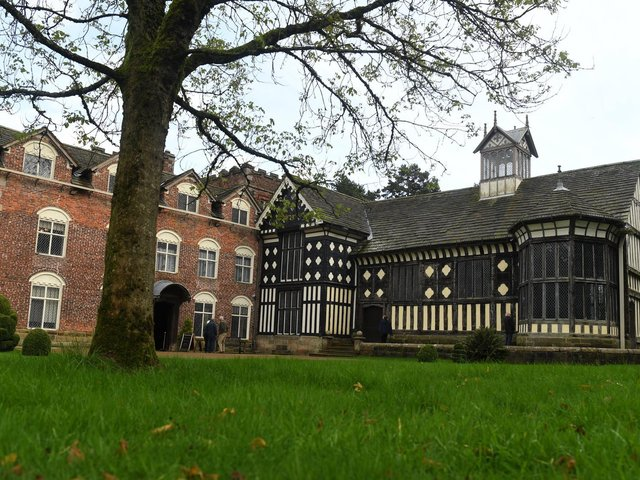 Rufford Old Hall, which has been closed for much of 2020