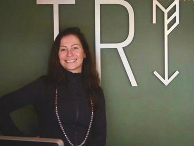Yoga instructor and business owner Madeline Diaz