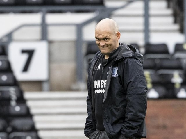 Preston North End manager Alex Neil before Boxing Day's win over Derby at Pride Park