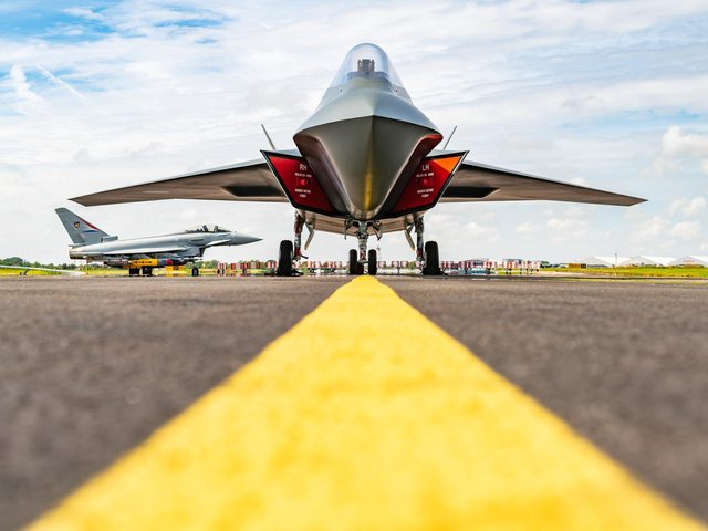 Tempest will replace the Eurofighter Typhoon, securing jobs at BAE Systems in Lancashire