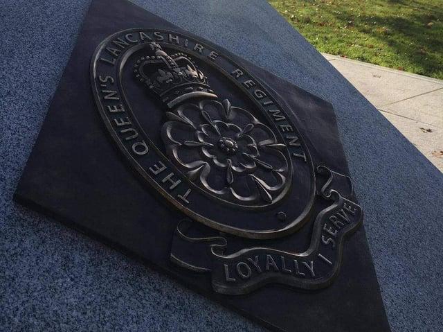 Queen's Lancashire Regiment Memorial at the National Arboretum