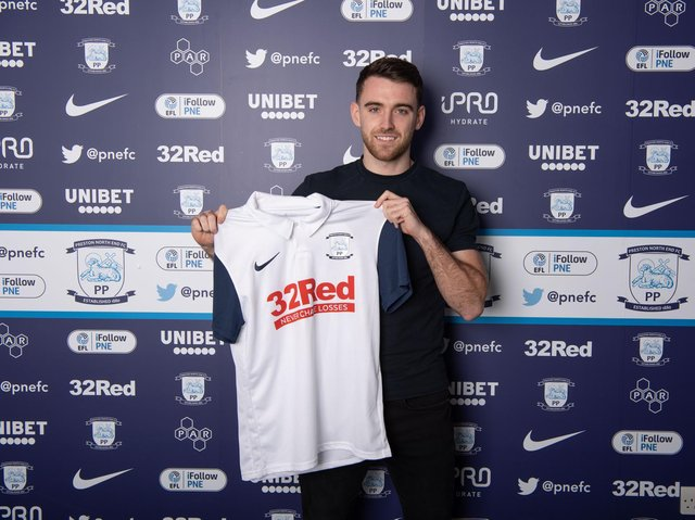 Ben Whiteman has signed for Preston North End from Doncaster Rovers    Pic courtesy of PNE