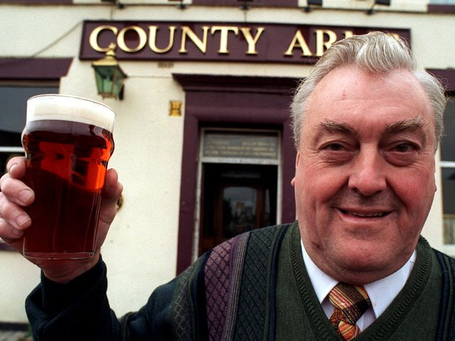 Brian Atkinson is retiring from the County Arms, Preston after running pubs for 32 years, he is Preston's longest serving landlord.