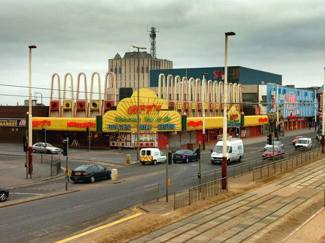 Blackpool's Golden Mile is vilified in Charles Jennings' book