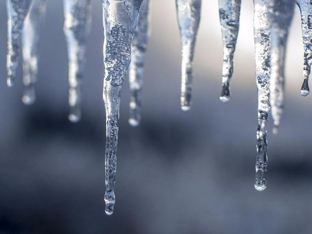 Icy patches may form on untreated roads, especially where snow has already fallen.