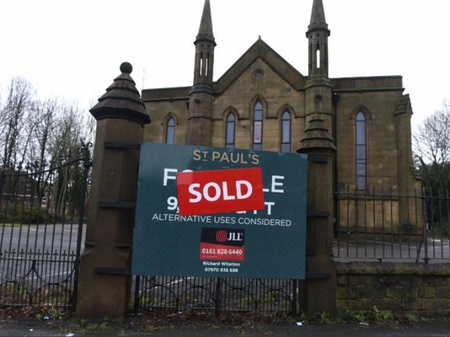 The old St Paul's Church is to become a company headquarters.