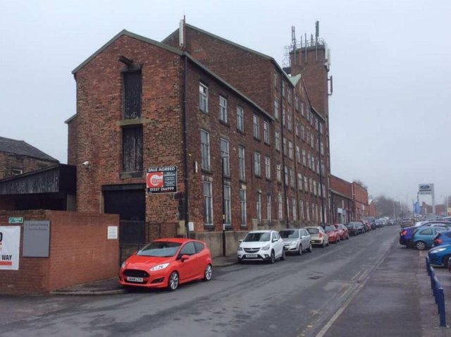 Chorley's oldest surviving cotton mill building on Standish Street (image: Chorley Council)