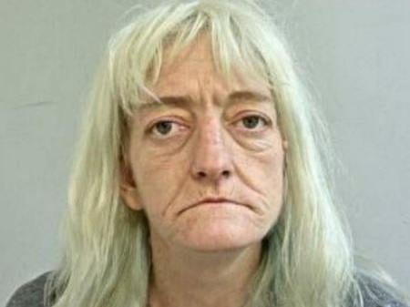 Sandra Sharrock, 46, from Chorley, has been sentenced to 5 years and 7 months in prison for drugs offences. Pic: Lancashire Police