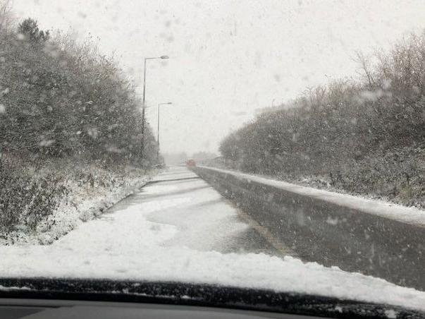 Up to 15cm of snow looks set to blanket huge swathes of the UK this weekend.