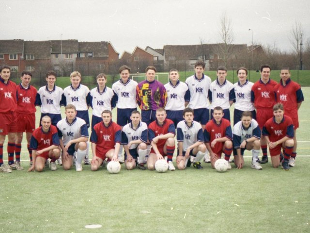 Atletico could find themselves facing Real in a Stateside soccer final with a distinct Preston flavour. For the teams in question aren't, in fact, the giants of Madrid, but two teams from Preston College who are heading to Phoenix, Arizona, for the annual President's Day Tournament, which they have dominated over the last few years. The two squads - Real Preston and Atletico Preston - are pictured