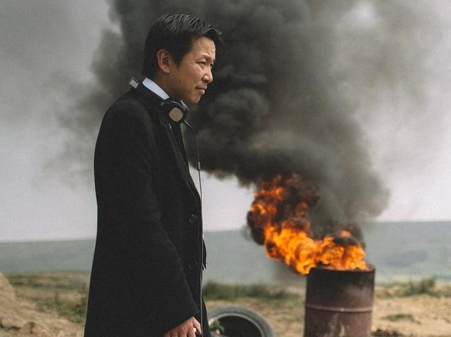 Chee Keong Cheung, direttore di Redcon-1, che sarà trasmesso su Horror Channel nel Regno Unito questo fine settimana.
