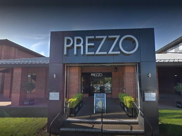 Prezzo, the British-owned Italian cuisine chain said its branch at Preston's Capitol Centre is one of 22 restaurants that will not reopen after lockdown. Pic: Google