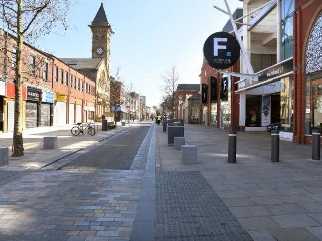 City centre to stay under lockdown until April.