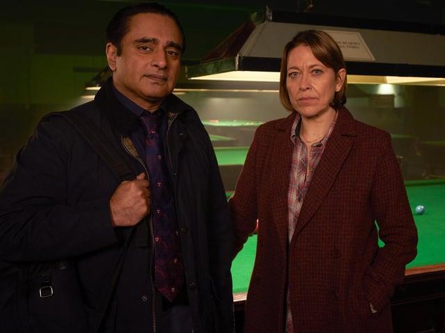 Sanjeev Bhaskar and Nicola Walker star in ITV's Unforgotten