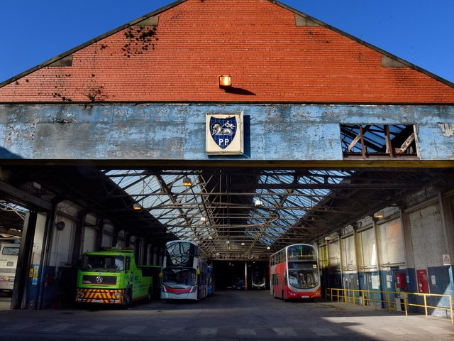 Part of the Preston Bus Depot on Deepdale Road is to be demolished
