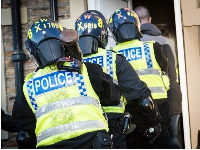 Police raided homes in Morecambe and across the UK as part of a country lines investigation.