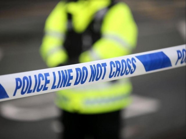 A 58-year-old man from Lancaster was pronounced dead at the scene.