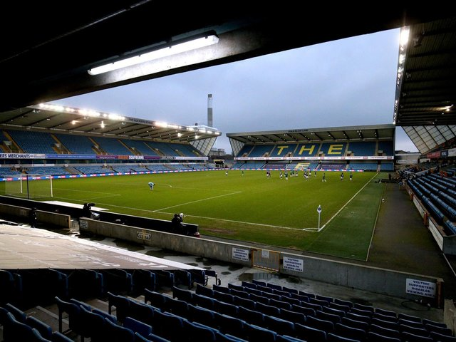 The Den, home of Millwall FC.