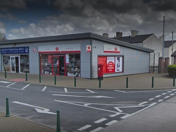 Bamber Bridge Post Office will be closed until Monday, March 8 after a member of staff tested positive for Covid-19. Pic: Google