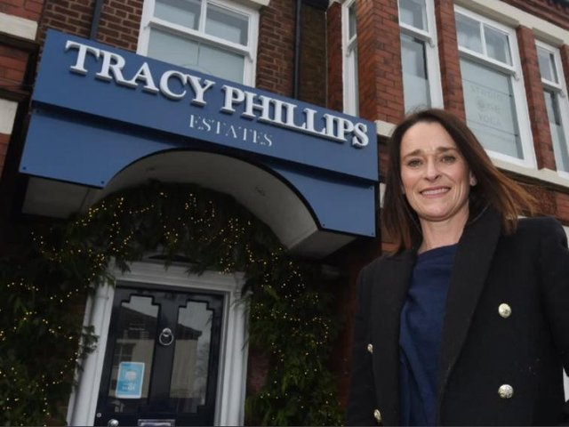 Tracy Phillips says she has never know such a scramble for property in 30 years as an estate agent.