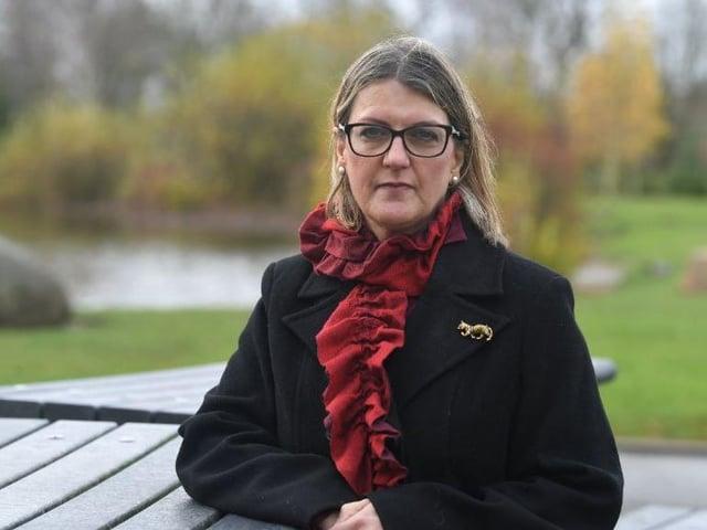 Lynn Thomas spoke of how her LTD company went into liquidation
