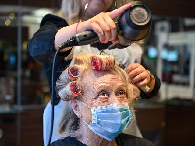 The opening of hair salons and barbers could be as soon as April 12