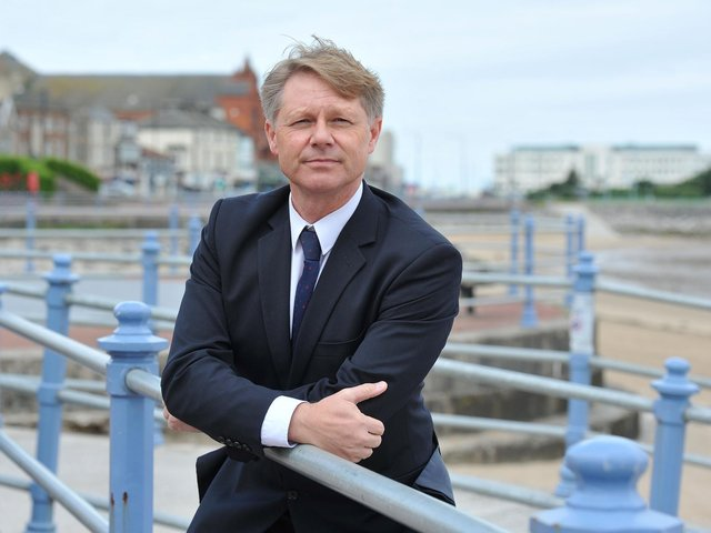 Morecambe and Lunesdale MP David Morris.