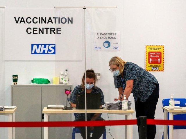 Well over half a million Lancashire and South Cumbria residents have so far had their first vaccine dose