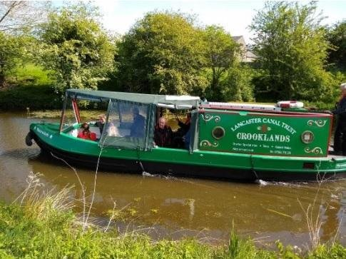 Lancaster Canal Trust are desperate for some new boating members.