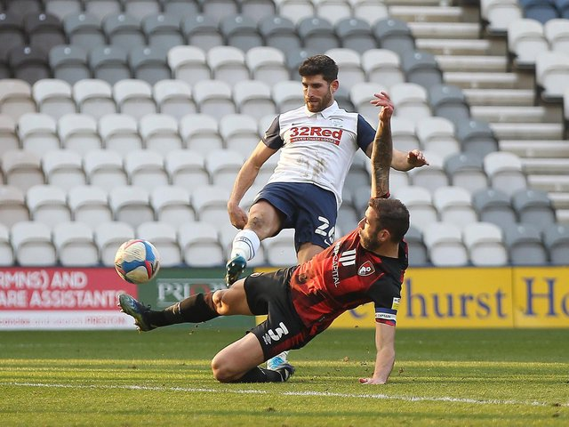 Ched Evans has a shot against Bournemouth