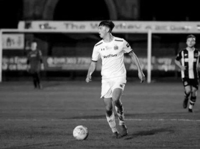 """AFC Fylde said: """"Luke was a kind, popular young man who was much loved by his teammates and coaches. He was somebody who could instantly light up a room with his bubbly personality."""" Pic: AFC Fylde"""