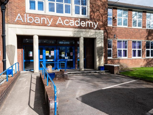 Albany Academy, Chorley will open its doors to all of its students again from today. Photo: Kelvin Stuttard