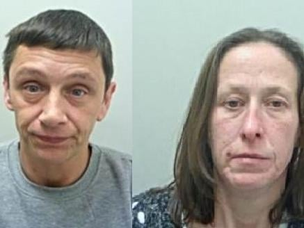 Steven Morris and Kelly Cassidy have been jailed for a total of six years and nine months for carrying out a distraction burglary at the home of an elderly Brierfield couple while the wife lay dying upstairs in bed