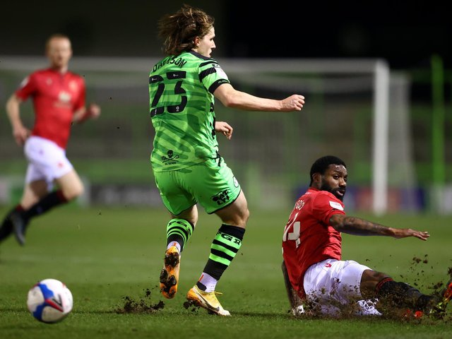 Morecambe and Forest Green Rovers shared the spoils on Tuesday evening