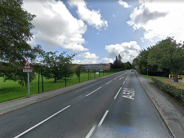 The road closure is in place between Ackhurst Road to Glamis Drive which might lead to some delays for those on the school run this morning. Pic: Google